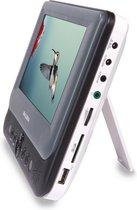 Salora DVP7048TWIN - Portable DVD speler - 2 schermen (7 inch) - Accu - USB - SD - Accessoires