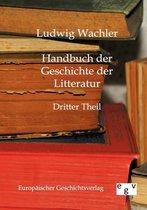 Handbuch der Geschichte der Literatur