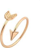 24/7 Jewelry Collection Pijl Ring Verstelbaar - Verstelbare Ring