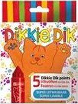 Bruynzeel Dikkie Dik Mega Points 5 Viltstiften