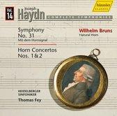 Horn Concertos Nos.1 & 2/Symphony No.31