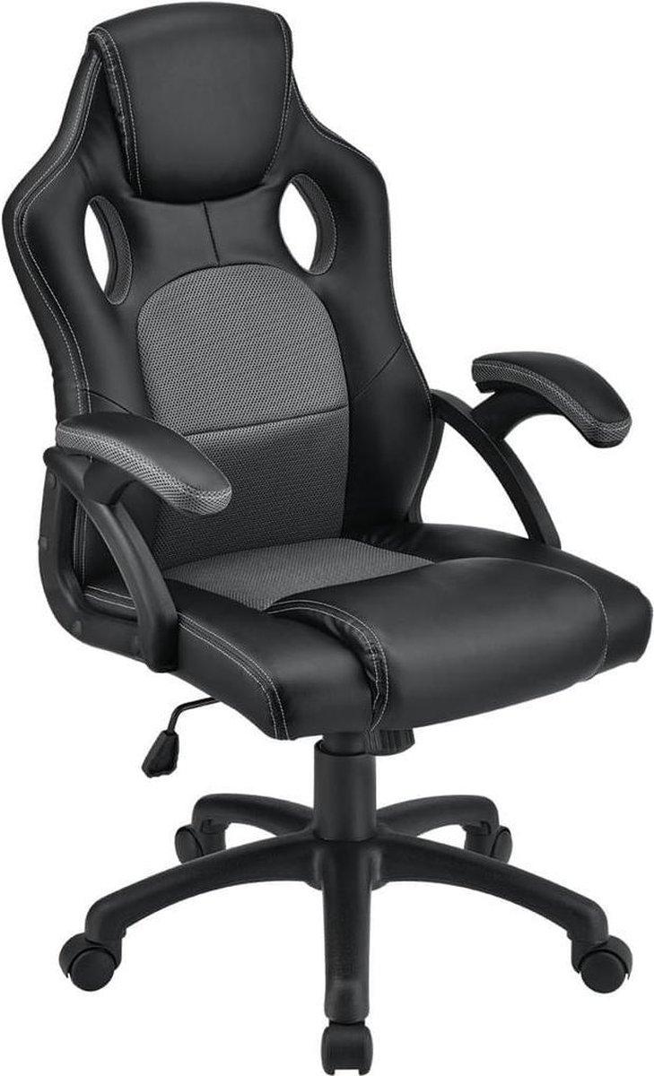 Bureaustoel / Gamingstoel - Grijs