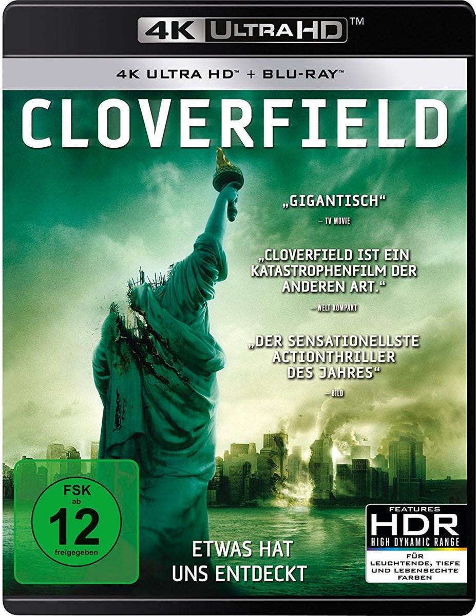 Cloverfield (Ultra HD Blu-ray & Blu-ray)-