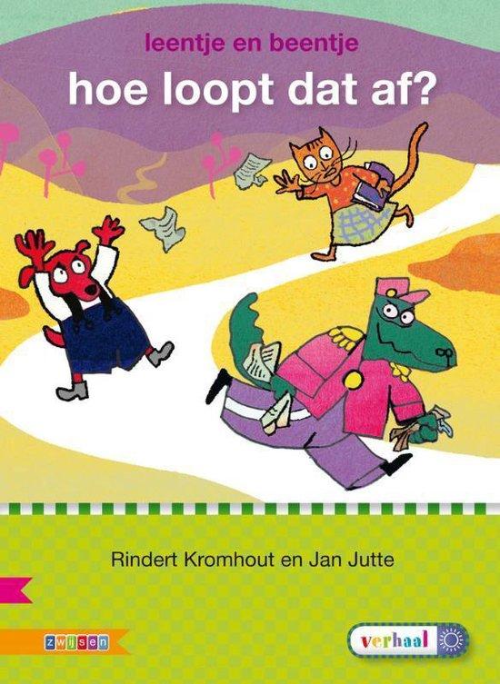 Veilig leren lezen - Hoe loopt dat af? AVI E3 - Rindert Kromhout pdf epub
