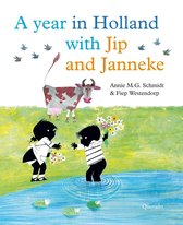 Boek cover A year in Holland with Jip and Janneke van Annie M.G. Schmidt (Hardcover)