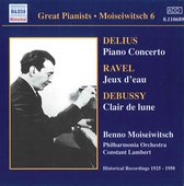 Moisewitsch:Delius-Piano Conc