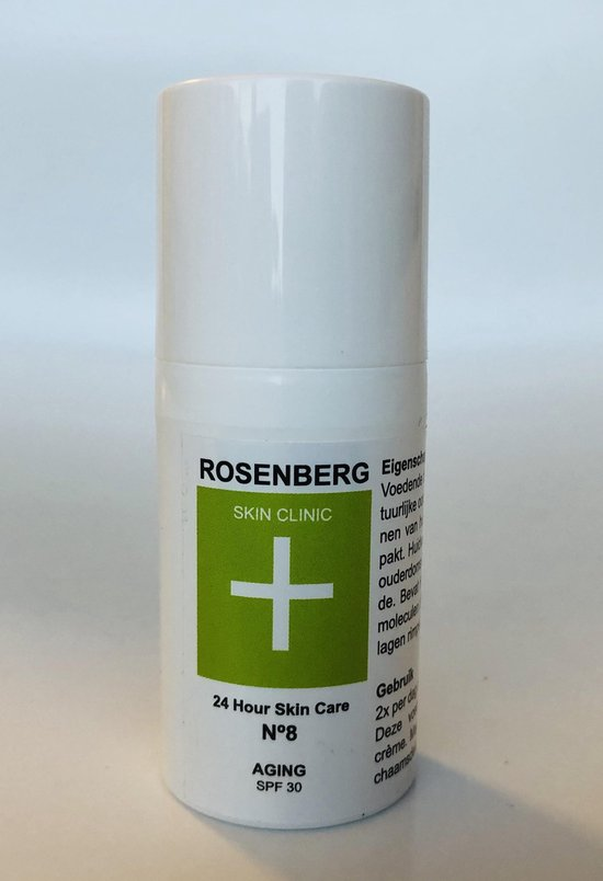 Anti- AGING met Hyaluronzuur + A| 24 Hour Skin Care |Rosenberg Skin Clinic® - 30 ml - liftend