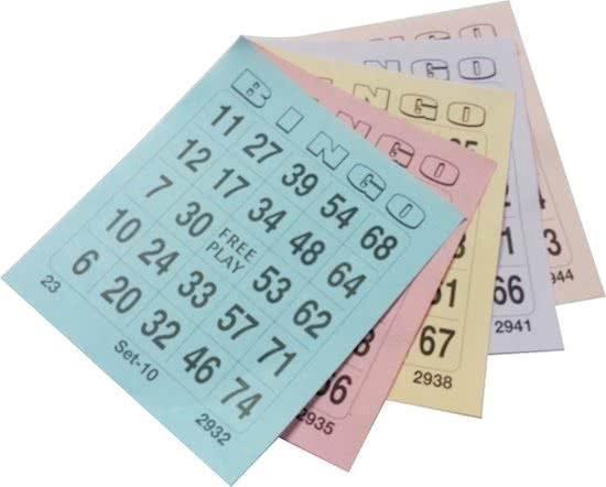 bol.com | Bingokaarten - Bingo Bloks - Bingo Blokken 5x100 / 1-75 ...