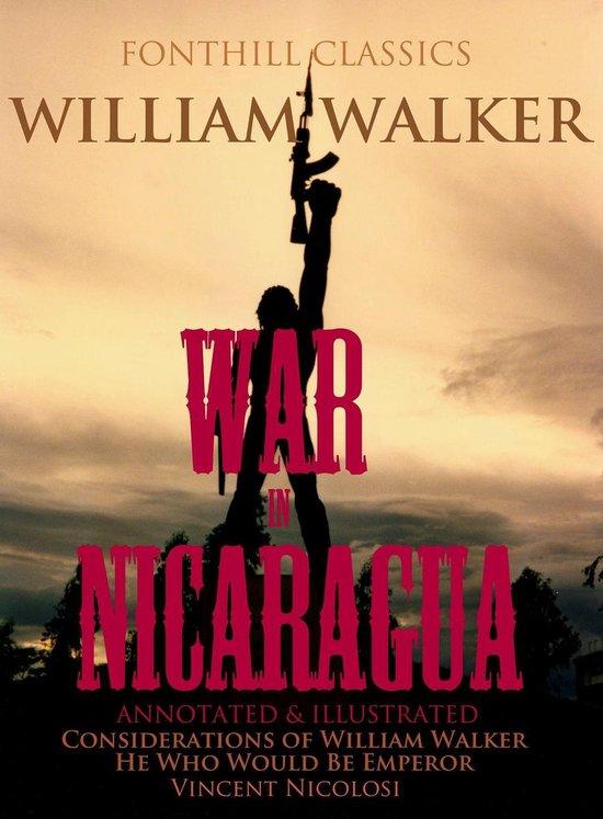 Omslag van The War in Nicaragua