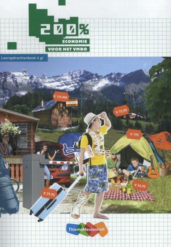 200% Economie voor het vmbo 4 gt Leeropdrachtenboek - Ilse Ouwens  
