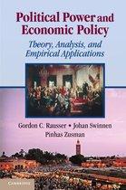 Boek cover Political Power and Economic Policy van Gordon C. Rausser