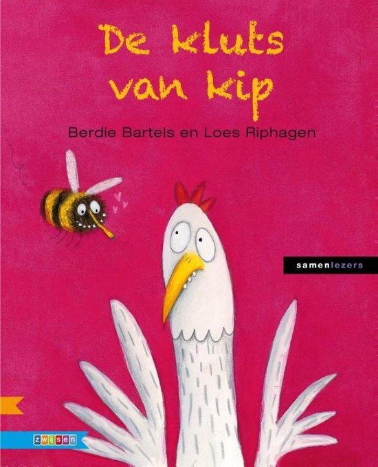 Boek cover Samenlezers  -   De kluts van kip van Berdie Bartels (Hardcover)