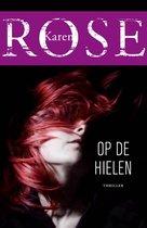 Boek cover Op de hielen van Karen Rose (Paperback)