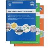 LVS- en entreetoets oefenboeken compleet Delen 1, 2 en 3 - Gemengde opgaven - Groep 6, opgaven voor rekenen, taal en studievaardigheden
