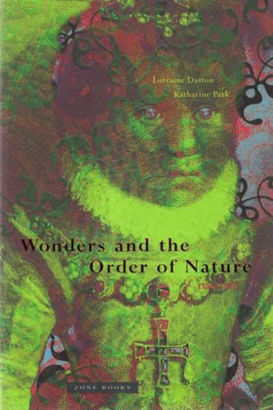 Boek cover Wonders and the Order of Nature, 1150-1750 van Lorraine Daston (Paperback)