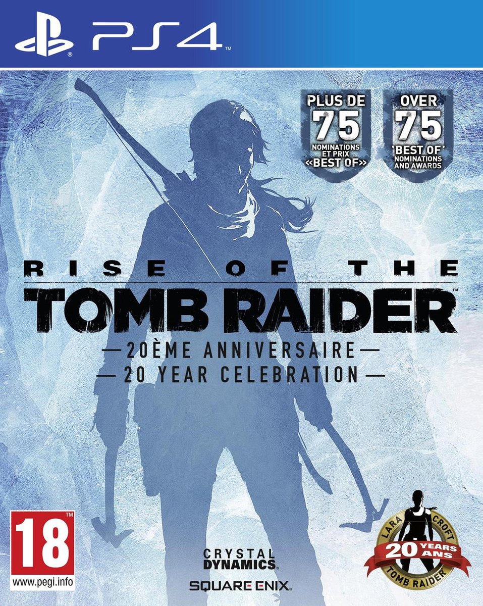 Rise Of The Tomb Raider: 20 Year Celebration - PS4 - Square Enix
