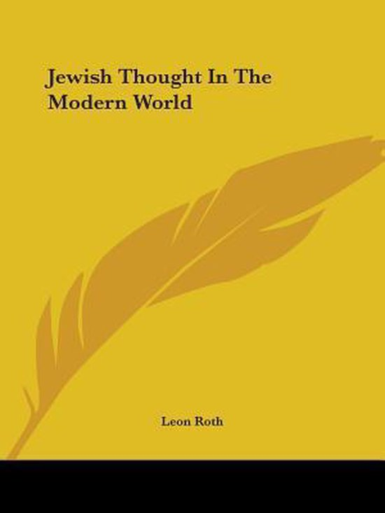 Jewish Thought in the Modern World