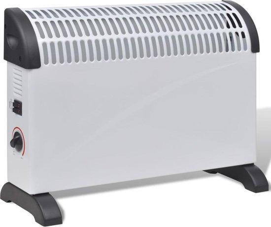 Elektrische Verwarming met 3 warmteinstellingen 2000W (Wit)