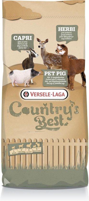 Versele-Laga Country`s Best Caprifloc 2 Muesli Geit Lama 15 kg Van 3 Tot 14 Weken - Versele-Laga