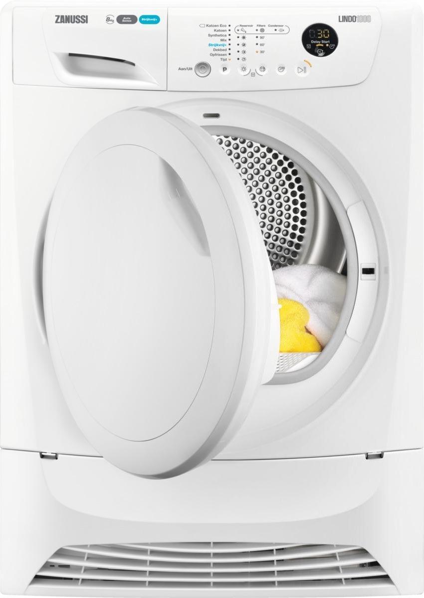 Zanussi ZDH8300NW – Warmtepompdroger