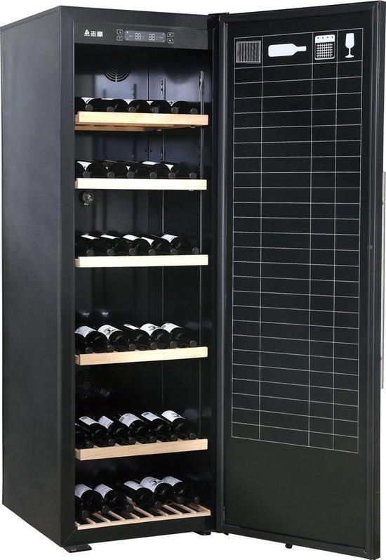 Koelkast: Caviss V1221GBE4 - Wijnkoelkast - 221 flessen, van het merk Caviss