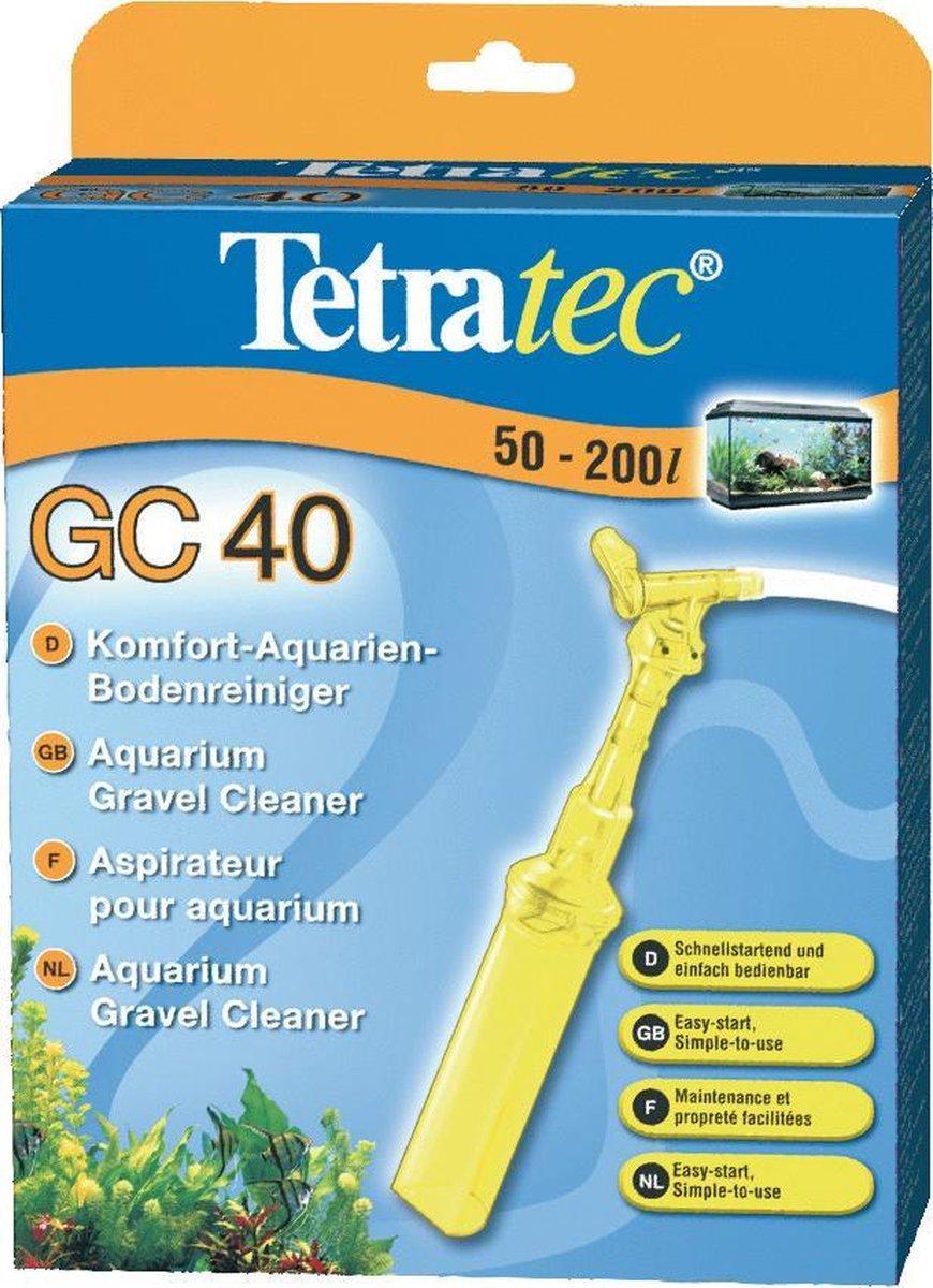 Tetratec bodem stofzuiger voor aquarium GC 40
