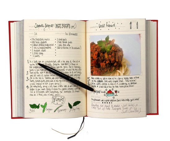 Suck UK Kookboek My Family Cookbook