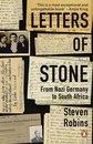 Boek cover Letters of Stone van Steven Robins