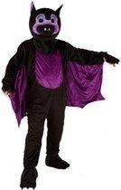 Vleermuis kostuum met groot pluche masker