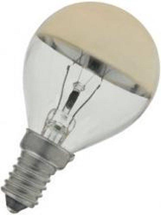 Kopspiegellamp E14 45x80mm 230V 40W Goud