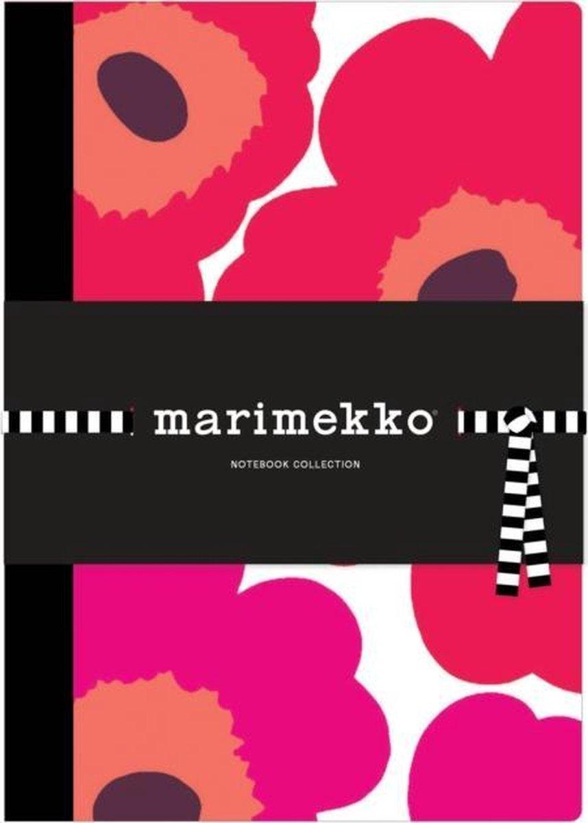 Marimekko Notebook Collection: 3 Notebooks