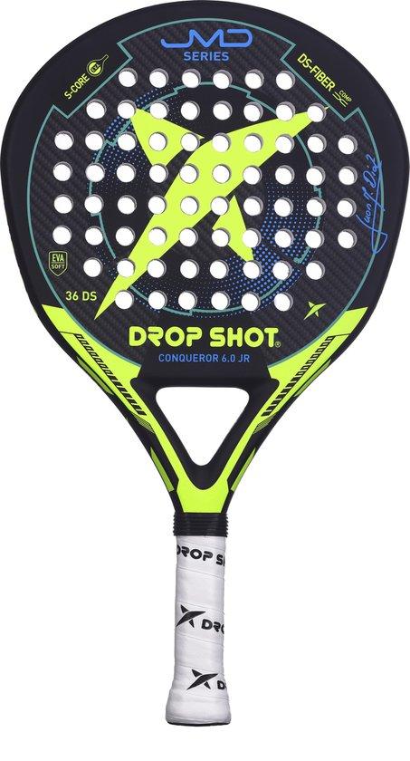 Drop Shot DS1800002 Padelrackets-Unisex-Maat--Zwart/Geel