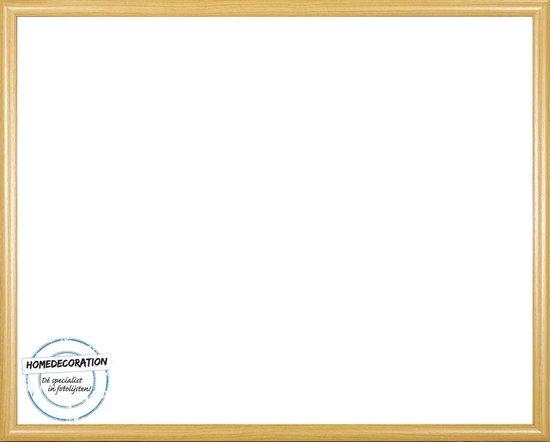 Homedecoration Biggy – Fotolijst – Fotomaat – 28 x 63 cm – Kunststof – Licht beuken