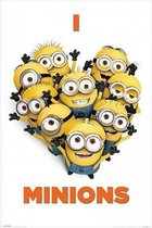 Poster I love Minions 61 x 91,5 cm - filmposter