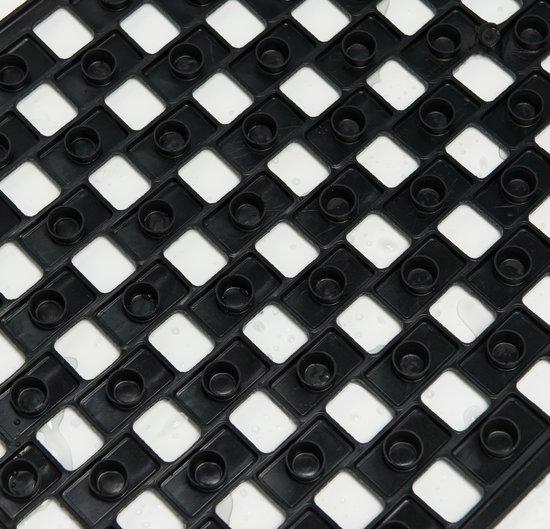 Sealskin Doby Antislipmat - 50x50 cm - Rubber - Zwart