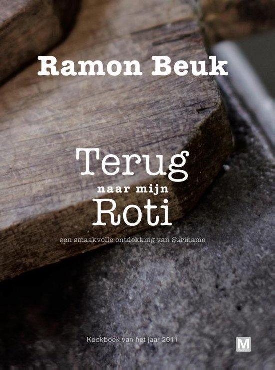 Boek cover Terug naar mijn roti van Ramon Beuk
