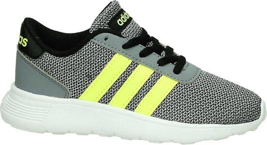 Adidas Lite Racer K Sneaker runner Jongens Maat 29 Grijs Core BlackS YelloC Lonix