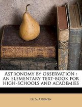 Astronomy by Observation