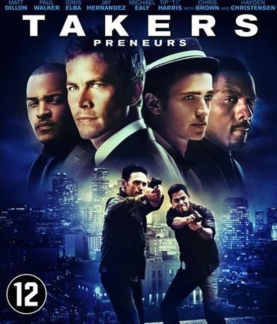 Cover van de film 'Takers'