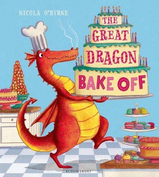 Boek cover The Great Dragon Bake Off van Nicola OByrne (Paperback)