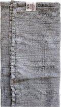 Fresh laundry handdoek silver 70 x 135 cm