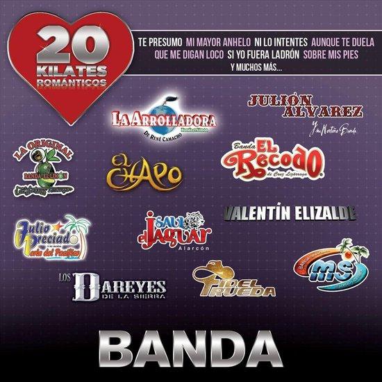 20 Kilates Románticos Banda