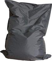 Drop & Sit zitzak - Grijs - 100 x 150 cm - binnen en buiten