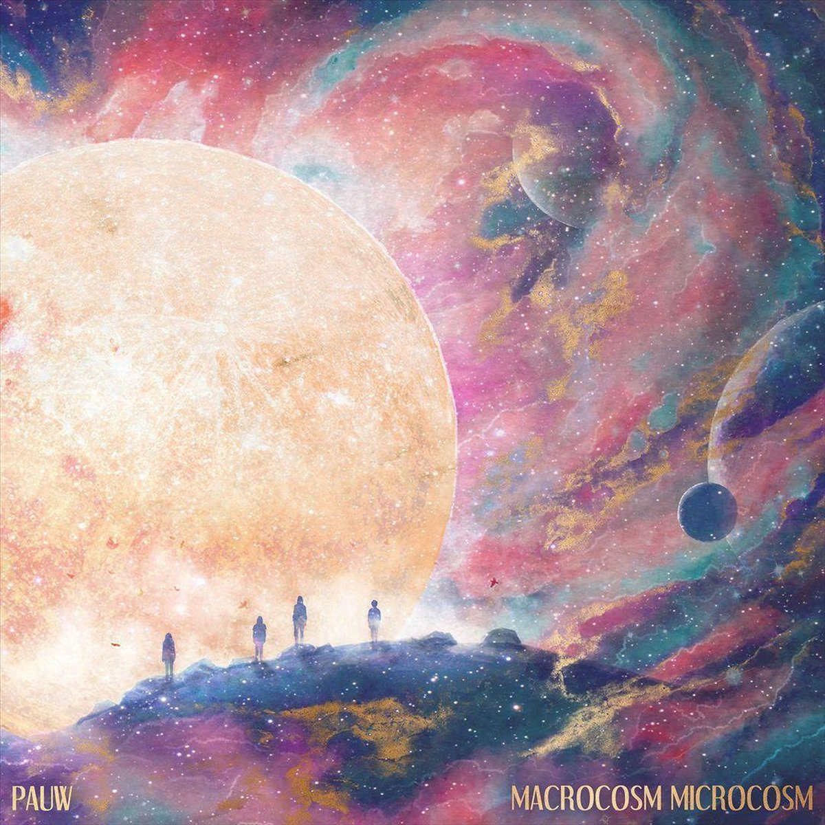 Macrocosm Microcosm (LP) - Pauw