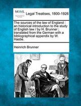 The Sources of the Law of England