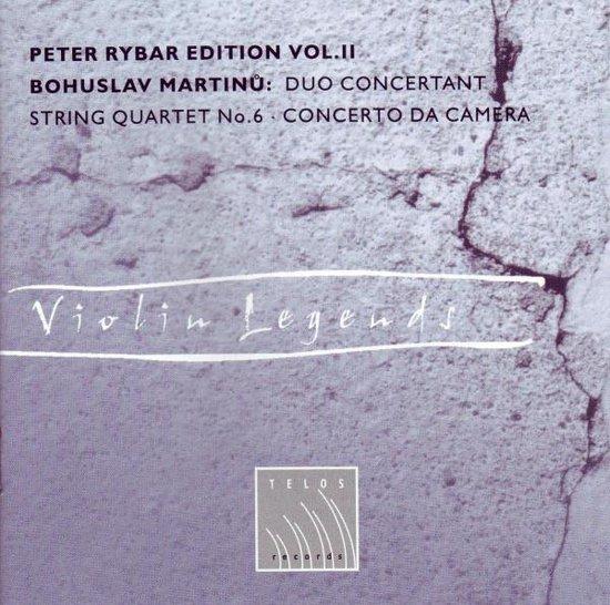 Martinu: Duo Concertant, String Qua