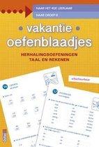 Boek cover Vakantie oefenblaadjes herhalingsoefeningen taal en rekenen. Naar het 4de leerjaar, naar groep 6 van ZNU
