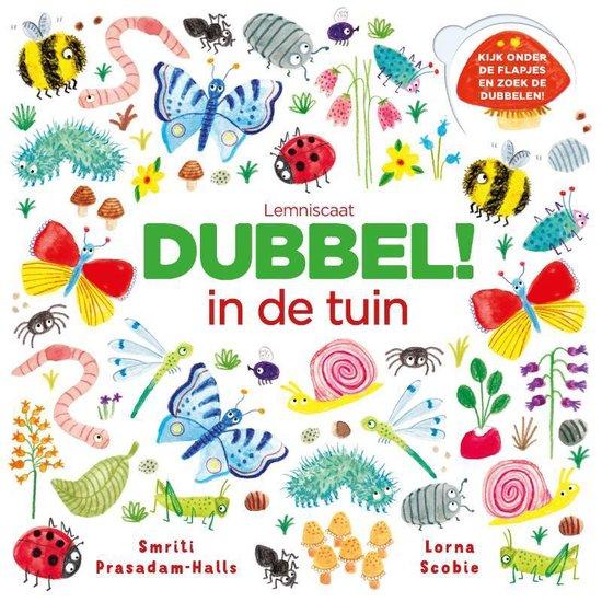 Boek cover Dubbel! In de tuin van Smriti Prasadam-Halls (Hardcover)
