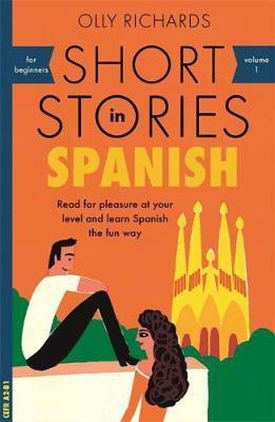 Boek cover Short Stories in Spanish for Beginners van Olly Richards (Paperback)