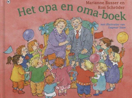 Het opa en oma-boek - Marianne Busser  
